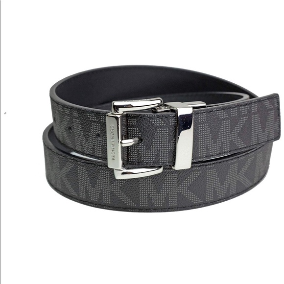 e6ee8f003 Michael Kors Accessories | New Authentic Mk Black Logo Belt ...